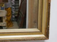 Charming 19th Century French Rectangular Gilt Mirror (4 of 6)