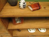 Antique Pine Display Shelves, small open kitchen shelves (2 of 13)
