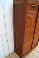 Oak Tambour Filing Cabinet (6 of 8)