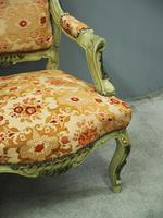 Pair of Italian Carved and Painted Armchairs (12 of 16)