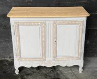 French 2 Door Painted Cabinet (11 of 11)