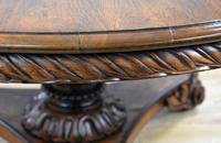 William IV Rosewood Circular Breakfast Table (11 of 11)
