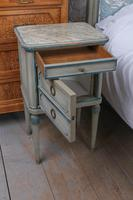 Very Pretty Original Aged Paint French Bedroom Suite (4 of 13)