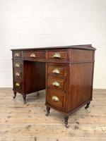 Antique Mahogany Small Desk (7 of 10)