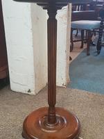 Edwardian Oak Lamp (4 of 5)