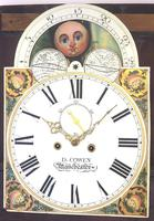 Fine English Longcase Clock D Cowed Manchester 8-day Striking Grandfather Clock Solid Mahogany Case (11 of 19)