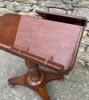 Victorian Mahogany Adjustable Duet Reading Stand (12 of 20)