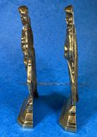 Pair of Victorian Brass Door Stops (9 of 16)