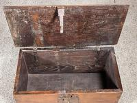 Small Spanish Walnut Chest From The 17th Century, (3 of 8)