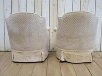 Pair of Antique French Tub Armchairs (8 of 9)