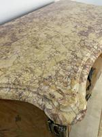 French Chest of Drawers Bombe Commode with Marble Top (9 of 12)