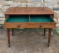 Antique Victorian Mahogany Side Table (13 of 17)