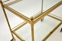 Vintage French Brass Drinks Trolley (9 of 10)