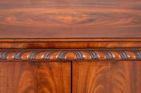 Stunning Mahogany Shaped Cabinet (4 of 8)