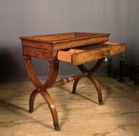 Stunning French Charles X Walnut Library Writing Table (11 of 16)