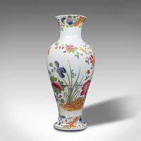 Antique Baluster Posy Vase, English, Ceramic, Decorative, Flower Urn c.1920 (2 of 12)