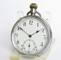 Swiss 1930s Stem Winding Pocket Watch (2 of 6)