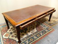 Large Mahogany Library Table /  Boardroom Table (4 of 8)