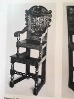 17th Century Yorkshire Child's High Chair (9 of 9)
