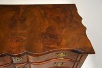 Antique Burr Walnut Low Boy Side Table (7 of 11)