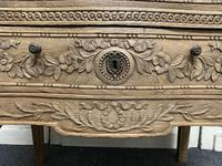 French Bleached Oak Chest of Drawers (11 of 12)