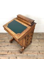 Antique Walnut Davenport Desk (3 of 11)