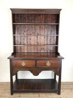 Antique Early 20th Century Oak Pot Board Dresser (6 of 14)