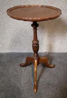 Mahogany Tripod Table / Wine Table (2 of 6)