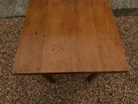 Lovely 19th century pine small farmhouse style kitchen dining table (11 of 12)