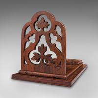 Antique Book Slide, English, Rosewood, Mahogany, Library Stand, Victorian c.1900 (12 of 12)