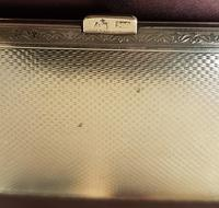 Art Deco Silver & Enamel Cigarette Case (3 of 4)