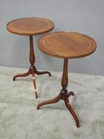 Pair of Sheraton Revival Occasional Tables (6 of 6)