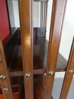 Fine Edwardian Revolving Bookcase (5 of 9)