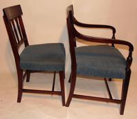 Set 6 Scottish Georgian Mahogany Dining Chairs (6 of 8)