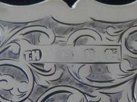 Solid Silver Aide Memoire Birmingham 1898 slight A/F (2 of 8)