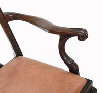 Set of Chippendale Dining Chairs Mahogany Antique 1890 Ball Claw (7 of 9)