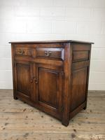 Antique Oak Dresser Base Sideboard (8 of 10)