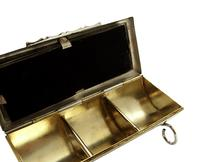 Antique Victorian Sterling Silver Stamp Case 1900 (5 of 9)