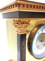 Wow! Amazing French Solid Ormolu Mantel Clock 8 Day Striking Mantle Clock (8 of 12)