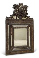 Repousse Brass Cushion Mirror (2 of 4)