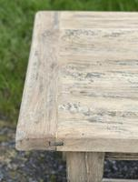 Rustic Bleached Oak French Farmhouse Dining Table (15 of 34)