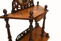 Victorian Whatnot Bookshelf Antique 1860 Furniture (13 of 13)