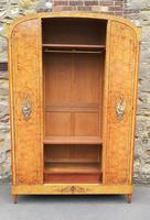 French Art Deco Burr Ash, Marquetry & Gilt Metal Mounted Wardrobe c.1910 (5 of 18)