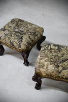 Pair of Antique Victorian Footstools (10 of 11)