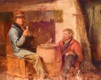 Superb oil painting by Edmund Bristow (1787-1876) (7 of 11)