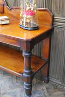 Large Antique Country House Mahogany Server / Console (2 of 7)