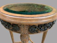 A Pair of Maitland Smith (philippines) French Style Circular Glass Topped Tables (2 of 4)