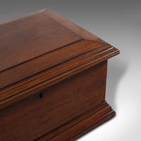 Small Antique Document Box, English, Walnut, Desk, Pen, Sarcophagus, Victorian (8 of 10)