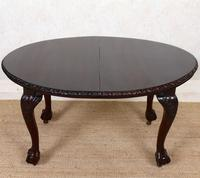 Dining Table Victorian Mahogany 19th Century 6 Seater Carved Cabriole (3 of 12)