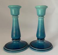 Pair of William Ault Designed Candlesticks c.1890 (7 of 7)